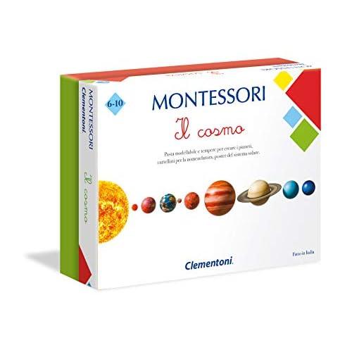 Clementoni Cosmo-Made in Italy, Gioco educativo Montessori Bambino 6 Anni, 16248