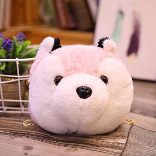 N / A Bolsa de Conejo Panda Bolsa de Peluche Suave Bolsa de Peluche de Gato de Dibujos Animados Lindo Bolsa de niña para niños Regalos de cumpleaños de Navidad para niños 21cm