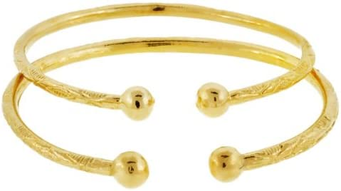 Solid store Sterling Silver West-Indian Bangle with Plated Gol Set 14K Fees free!!