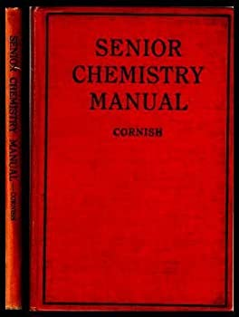 Hardcover Senior Chemistry Manual Of Experiments Book