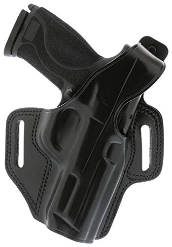 Galco Fletch High Ride Belt Holster Compatible with Glock 19, 23, 32, RH,...