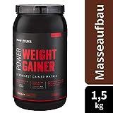 Body Attack Power Weight Gainer, Chocolate, 1,5 kg, 100% Masseaufbau, Kohlenhydrat-Eiweißpulver zum...