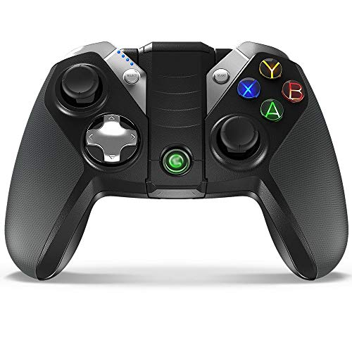 QCHEA Controlador de Juego inalámbrico, Joystick de Controlador de Juego inalámbrico Bluetooth G4s for Android/Windows/Table / PS3 / TV