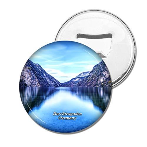 Weekino Deutschland Kings Lake Berchtesgaden Bier Flaschenöffner Kühlschrank Magnet Metall Souvenir Reise Gift