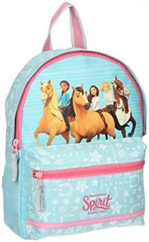 Spirit Riding Free Mochila Infantil, 31 cm, 6 Liters, Azul (Blue)
