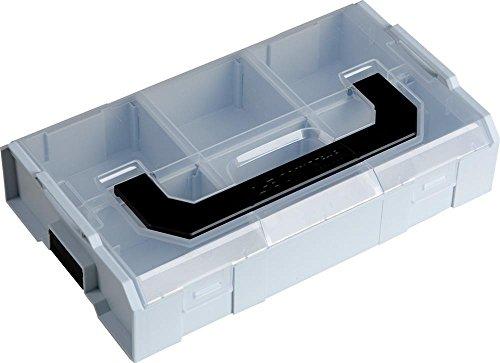 L-BOXX Mini 6000010101 6000010101 L-BOXX Mini Deckel transparent lichtgrau/schwarz, Grau