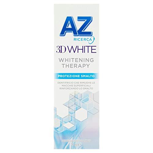 AZ 3D White Whitening Therapy Dentifricio Protezione Smalto, 75ml