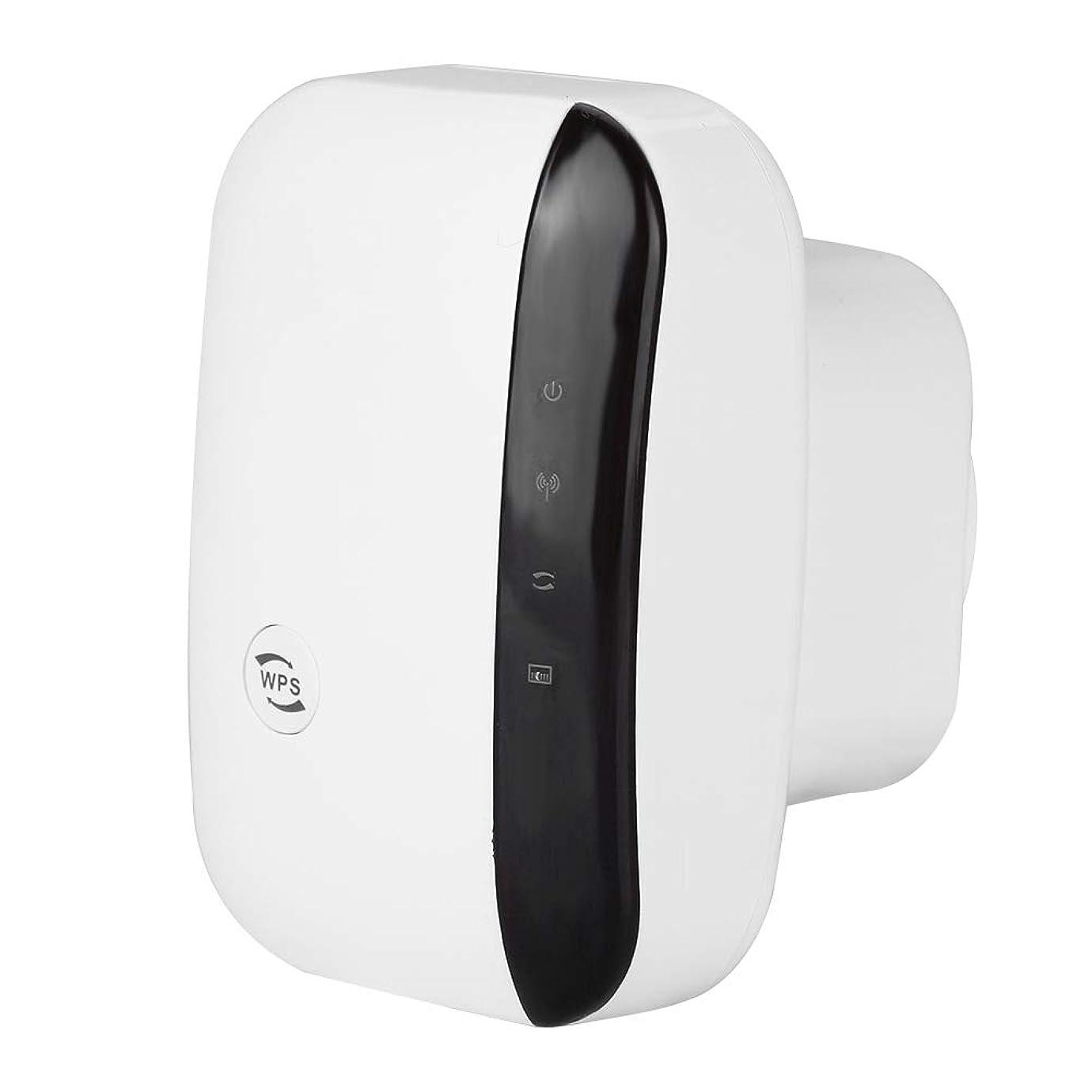 ドアミラー同一の接地Sanpyl 無線LAN中継器 AP/リレーモード 2.4GHz?2.4835GHz高速データ伝送 WiFi信号増幅器 WiFi範囲エクステンダ WPS暗号化 コンセント直挿型(us ホワイト)