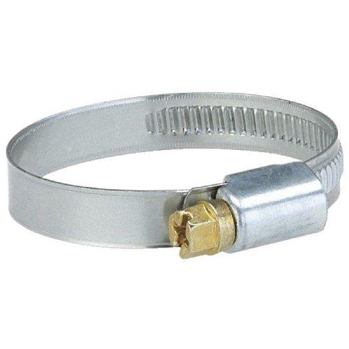 Gardena Schlauchschelle: Edelstahl-Schlauchklemme zur Schlauchbefestigung, Spannbereich 10–16 mm (1/2 Zoll), Bandbreite 9 mm, Schneckengewinde (7190-20)