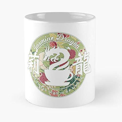 Jasmine The Iroh Nation Airbender Azula Last Zuko Fire Avatar Dragon - Best 11 Ounce Ceramic Mug - Classic Mug for Coffee, Tea, Chocolate or Latte