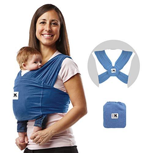 Bébé K 'tan de transport en coton (XL, Denim)