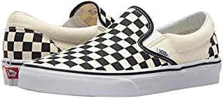 Vans Classic Slip On Black Off White Checkerboard...