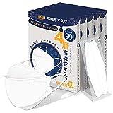 KF94 マスク 個包装 50枚入 4層構造 使い捨て 不織布 マスク ウイルス飛沫対策 日本の品質 大人用 通気快適