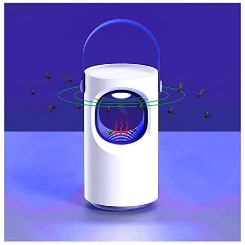 LFNIU Insektenvernichter AmeisenUV LED Moskito-Wanzen-Mörder-Fliegen-Mörder, Fliegen Zapper Insektenlampe USB trieb Moskito-Inhalator-Falle an, Keine Strahlung ungiftig