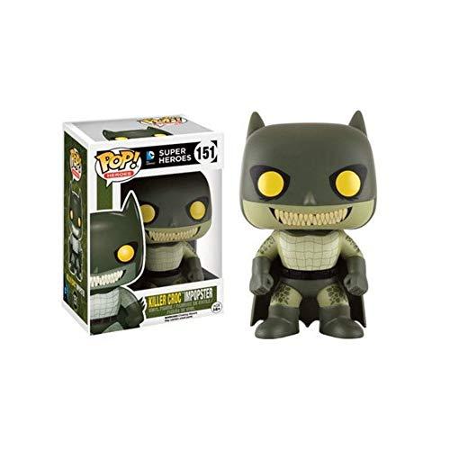 Figura Pop DC Batman as Villains Killer Croc impopster