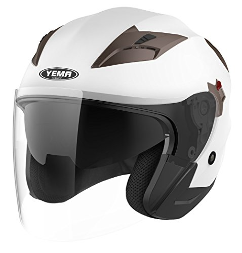 Motorcycle Open Face DOT Approved Helmet