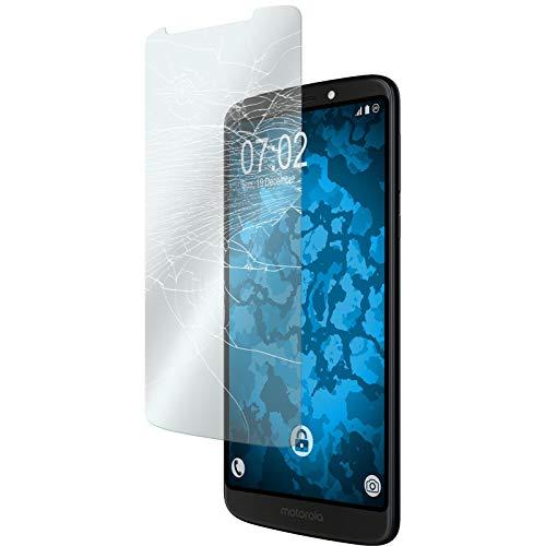PhoneNatic 2 x Glas-Folie klar kompatibel mit Lenovo Moto G6 Play - Panzerglas für Moto G6 Play