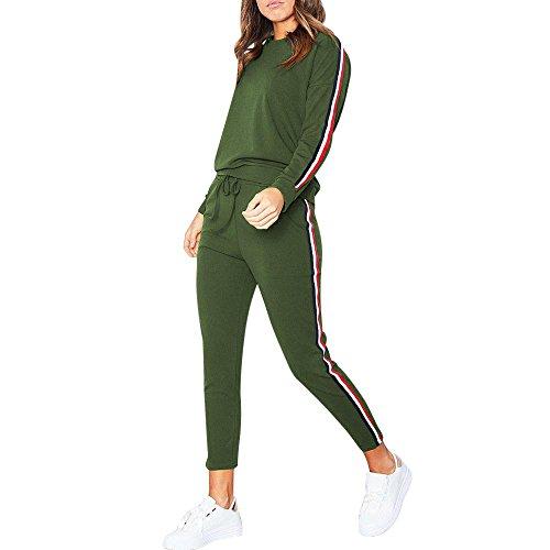 Frauen Trainingsanzug Hoodies Sweatshirt Top Hosen Sets Sport Wear Casual Suit