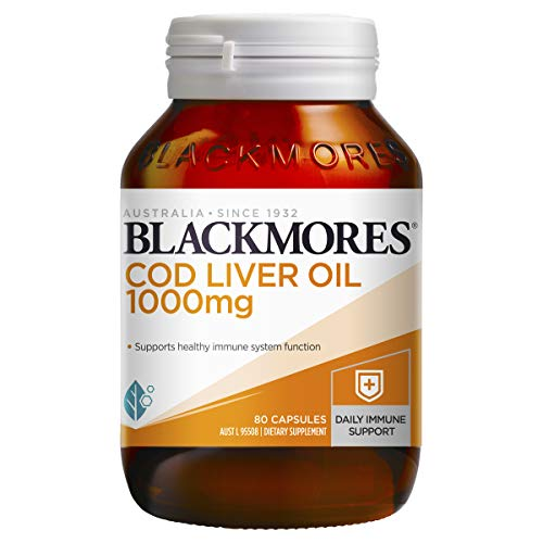Blackmores Cod Liver Oil 1000mg (80 Capsules)