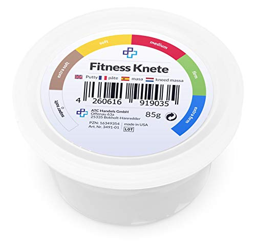 Plastilina para fitness (450 g), color blanco