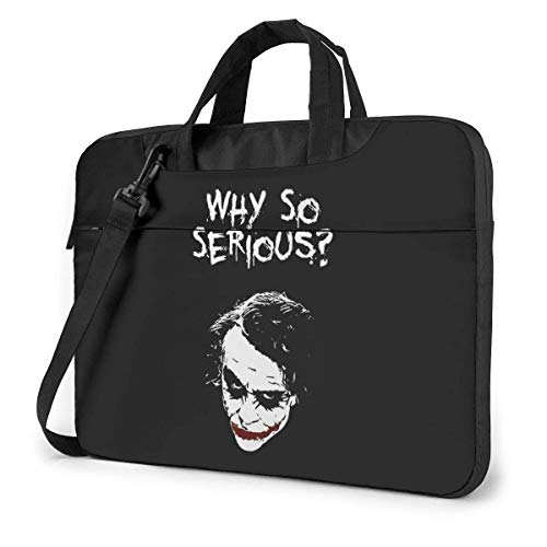 Hdadwy The Joker Laptop Shoulder Sleeve Bag Case with Handle for 17 17.3'Dell Hp Classic Colorful 13 inch