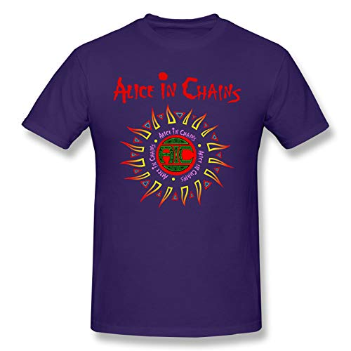 Alice In Chains (3) Men's Short Sleeve T-Shirt Graphic Uniqu