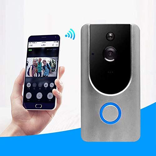 Fácil instalación Cámara de seguridad VESAFE for el hogar VS-M3 HD 720P Videoportero inteligente con WiFi WiFi, soporte for tarjeta TF y visión nocturna y aplicación de detección PIR for IOS y Android