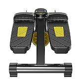 Máquinas de Cardio Mini Stepper De Fitness Máquina para Pedalear para Perder Peso para Hombres Y Mujeres Caminadora Deportiva para Interiores Máquina Silenciosa para Pies En El Dormitorio