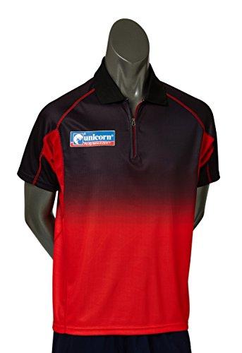 Unicorn Pro Dart Shirt, klein, rot/BLK/rot
