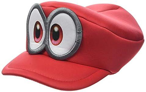 Bioworld - Difuzed Casquette De Super Mario Odyssey Cappy Gorra, Rojo (Rouge 000), Talla Única Unisex Adulto