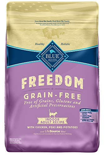 Blue Buffalo Indoor Cat Food Grain Free