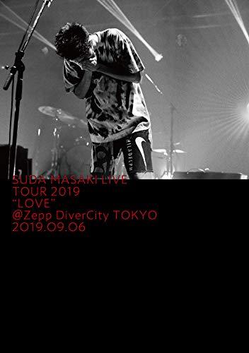 """菅田将暉 LIVE TOUR 2019 """"LOVE""""@Zepp DiverCity TOKYO 2019.09.06 (通常盤) (Blu-ray) (特典なし)"""