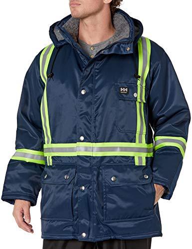 Helly Hansen Workwear Herren Weyburn Warnschutz-Parka, Marineblau, Größe XL