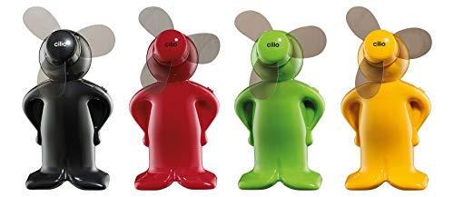 Cilio Mini-Ventilator Vento-Boy Classic 4 Stück farblich Sortiert