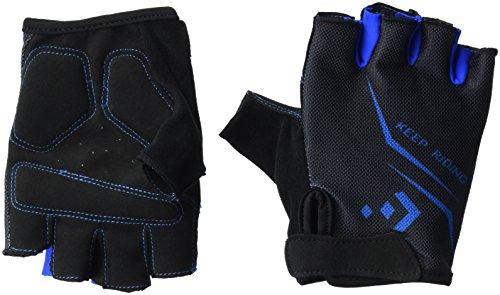 Hicool - Guantes de ciclismo para hombre y mujer, color azul, tamaño medium