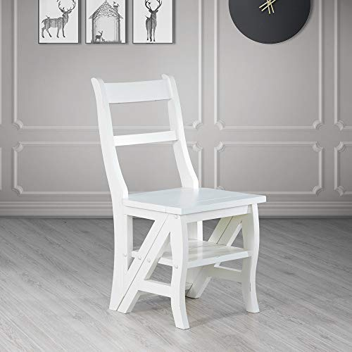 Carolina Cottage Franklin Chair/Ladder, White Finish