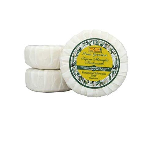 Idea Toscana - Traditionelle Marseille Seife, Traditional Marsiglia Soap 30 Gramm - Prima Spremitura Naturkosmetik aus dem Herzen der Toskana