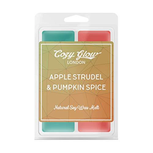 Cozy Glow Manzana Strudel & Pumpkin Spice - Cera de soja para derretir