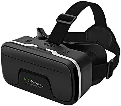 VR Headset Pecosso 3D Virtual Reality Glasses Compatible with iPhone Android Phone New Goggles product image