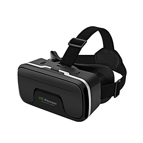 VR Headset, Pecosso 3D Virtual Reality Glasses Compatible with iPhone & Android Phone New Goggles...