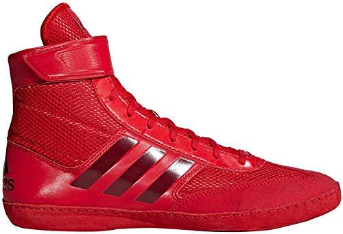 adidas Combat Speed 5 Men's Wrestling Shoes, Red/Dark Red, Size 11.5