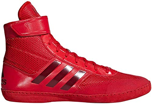adidas Combat Speed 5 Red Dark Red Wrestling Shoes Red 11.5