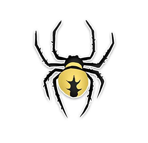 Wandtattoos Wandbilderblack Widow Furry Spider Crawl Dekoration Auto Aufkleber Farbe Autoscooter Fenster 11.4 X 14.1 Cm