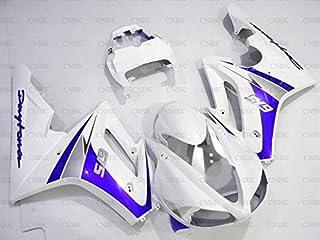 Plastic Fairings for 675 2009-2012 Plastic Fairings for 675 2012 Blue White Fairings Daytona 2010