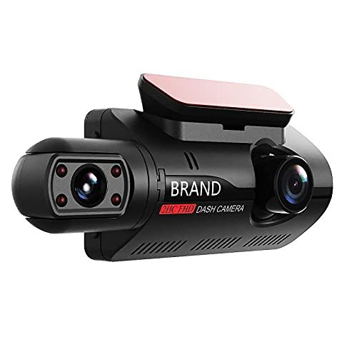 """XUANWEI Parte dianteiro e traseira do came, 1080p HD Display Dupla Dash Cam para carro, 3 """"Display Carro Câmera de Segurança Veículo Veículo Gravador, Carro DVR, Visão Noturna, Detecção de Movimento, Gravação"""