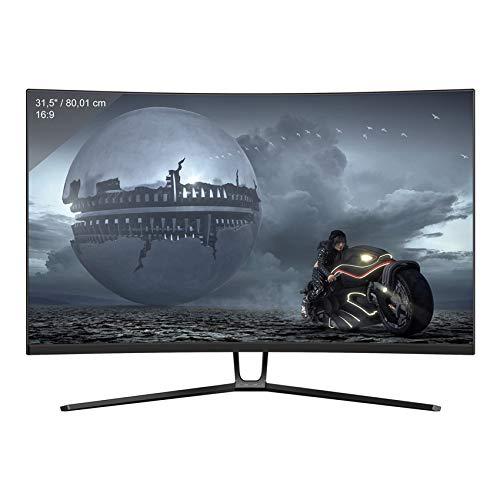 LC-Power Ecran PC Gaming incurvé, VA 32' QHD (2560 x 1440), 144 Hz, 4ms, HDR 600, 1500R, Freesync,3X HDMI, DP