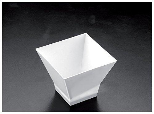 Gold Plast - Coppetta Pagoda, colore bianco - 25 pz per confezione, Capienza 65 cc