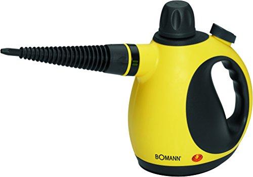 Bomann DR 907 CB mobiler Dampfreiniger inklusive 9-teiligem Zubehör, 3,5 bar max Dampfdruck, 900-1050 W