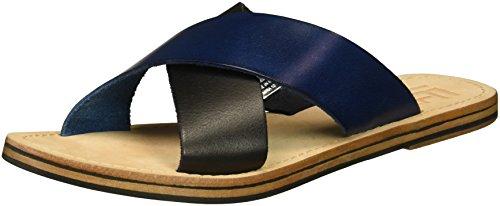 LFL by Lust for Life Damen L-mira Flache Sandale, Blue Multi Leather, 38 EU