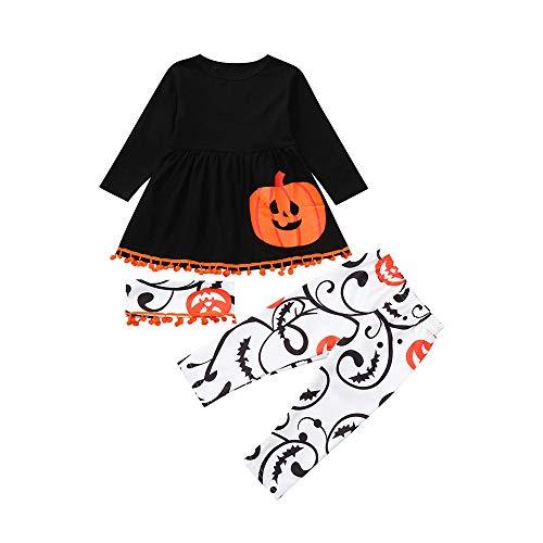JERFER Brief Strampler Hose Kleinkind Säugling Baby Mädchen Jungen Halloween Kostüm Outfits Set